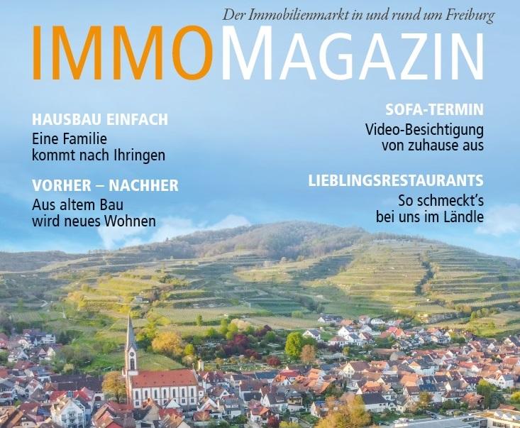 Unser neues Immobilien-Magazin in der Druckerei